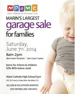 garage sale facebook flyer