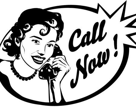 woman-talking-on-the-phone-free-vector